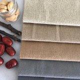 Tessuto lucido del poliestere del velluto del filato d'argento per il sofà