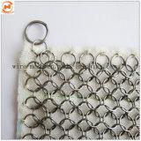Rete metallica di Chainmail dell'acciaio inossidabile