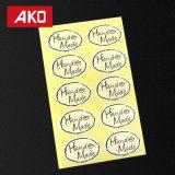 module fabriqué à la main elliptique d'étiquette de joint de collants d'album à type de 100PCS Zakka