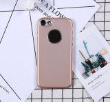 iPhone7를 위한 둔한 폴란드인 TPU 전화 상자를 살포하는 금속 페인트