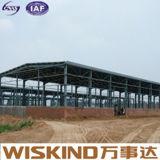 새로운 주요한 질 기중기를 가진 Prefabricated 강철 보관 창고