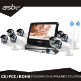 jogos da câmara de segurança NVR do CCTV de 720p 8chs HD IR Digital