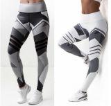 2017 pantaloni di sollevamento di yoga di vendita di Digitahi di stampa dell'anca calda di alta qualità