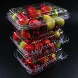 Los contenedores de plástico desechables para llevar contenedores de comida rápida bandeja de frutas caja de embalaje con tapa