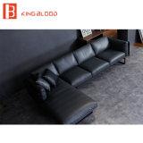 イタリアの現代デザイン本革のコーナーのソファー
