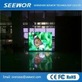 À CONTRASTE ÉLEVÉ DE P10 l'intérieur du panneau affichage LED fixe avec un poids léger Cabinet