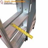 企業のための軽い可搬性のデラックスな世帯の歩くアルミニウム梯子