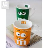 380ml微笑の表面印刷の中国の陶磁器のティーカップ