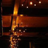 2m100LEDs Brown Explosion-Kugel-Zeichenkette-Licht für Weihnachtsdekoration-Lichter
