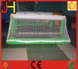 Porte gonflable du football de but gonflable de l'eau
