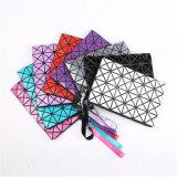 2018 новых косметических Bag творческих PU треугольник Dumpling мешок (ГБ#00568)
