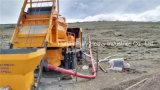 Bomba mezclador mezcladora de concreto móvil con Hbt40 bomba de concreto para la venta