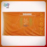 広告のための100%年のポリエステル屈曲の旗(HYADF-AF028)