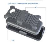 미국 작풍 벨트 권총휴대 주머니 TPU PC LG G4를 위한 잡종 결합 이동할 수 있는 셀룰라 전화 상자 뒤표지 플러스