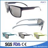 Kundenspezifische Entwerfer-Plastiksonnenbrillen polarisierte Form