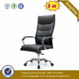 ISO9001 de Stoel van het Bureau van het Leer BIFMA van de Koe van het Kantoormeubilair (hx-NH024)