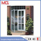 Puerta principal de la casa de la ventana de aluminio y de la puerta
