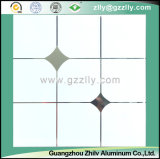 Schöne Muster-Korrosionsbeständigkeit und Schmutz-Widerstand-polymerische Decke - Goldstein mit silberner Zeile