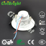 3W LED Downlight vertieftes Instration