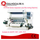 Machine à grande vitesse d'inspection et de rebobinage de série de Fhya-B