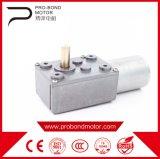 Motor eléctrico del engranaje del reductor del gusano de la C.C. 24V