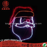 Outdoor LED Christmas Santa Clause Rope Motif Décoration Light for Street