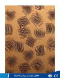 spiegel van de Kunst van de Decoratie van de Deklaag van 2mm23mm de Schitterende Gouden Vlinder Berijpte Zure