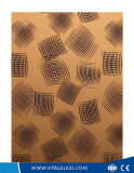 2mm-23mmの素晴しい金蝶によって曇らされる酸のコーティングの装飾の芸術ミラー