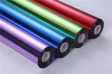 stampa calda olografica trasparente di trasferimento del foglio per l'impressione a caldo di 0.64m*120m