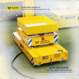 La riga di industria applica il carrello ferroviario di trasferimento di produzione motorizzato rimorchio
