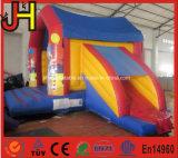 Corrediça inflável do castelo do palhaço combinado para a venda