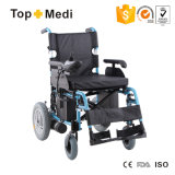 Topmedi Promovendo Hot Sale Foldable Electric Power Mobility Wheelchair