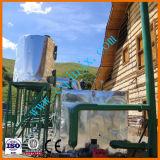 不用なオイルのディーゼル燃料の精錬のプラントにリサイクルする蒸留によって使用される潤滑油