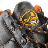 2017 самых лучших продавая кожаный ботинок ботинок безопасности с стальной крышкой пальца ноги