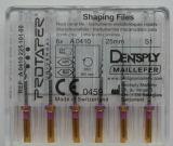 Arquivos dentais giratórios de Dentsply Niti Protaper
