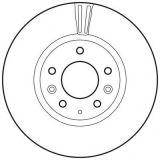 Acessório automático de rotor de freio de disco de fundição de ferro