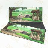 Crafts promocionales personalizados imán con papel recubierto