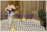 Supporto di candela domestico di vetro della decorazione, supporto di candela di Tealight