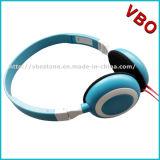평면 케이블을%s 가진 경량 입체 음향 에서 귀 이어폰 헤드폰