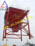 Örtlich festgelegter Typ Industrie-Einleitung Eco-Kanal Zufuhrbehälter-Staub-Beweis-Zufuhrbehälter