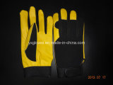 Cuir de vache Glove-Mechanic Glove-Safety Glove-Machine Glove-Working des gants en cuir