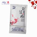 De coton essuie-main 100% humide antibactérien d'alcool non fait par le constructeur humide de chiffon en Chine