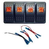 Doppel-Digitalanzeigen-Voltmeter USB-Mit Drähten und Verbindern