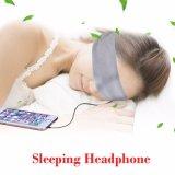 Sport che eseguono le cuffie di sonno della fascia di musica del gruppo dei trasduttori auricolari di sonno