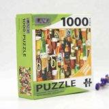 1000 Unidades Classic Custom Adulto Dom Jigsaw Puzzle de sublimação de papel