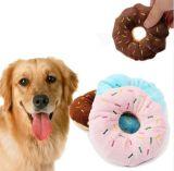 Lovely Pet Squeaker Plush Donut Toys