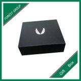 De zwarte Doos van de Gift van het Karton van de Kleur Vierkante