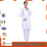 Cappotto bianco del laboratorio di usura medica calda di vendita di cotone