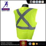 Тельняшка безопасности сетки Высок-Видимости отражательная с мешком