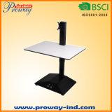 """Elektrischer stehender Schreibtisch-sortieren justierbarer Höhen-Schreibtisch-Konverter, 28 """" X 20 """" konvertiert sofort jeden möglichen Schreibtisch oder Würfel in sitzen in Fastfood- Arbeitsplatz-Schreibtisch"""